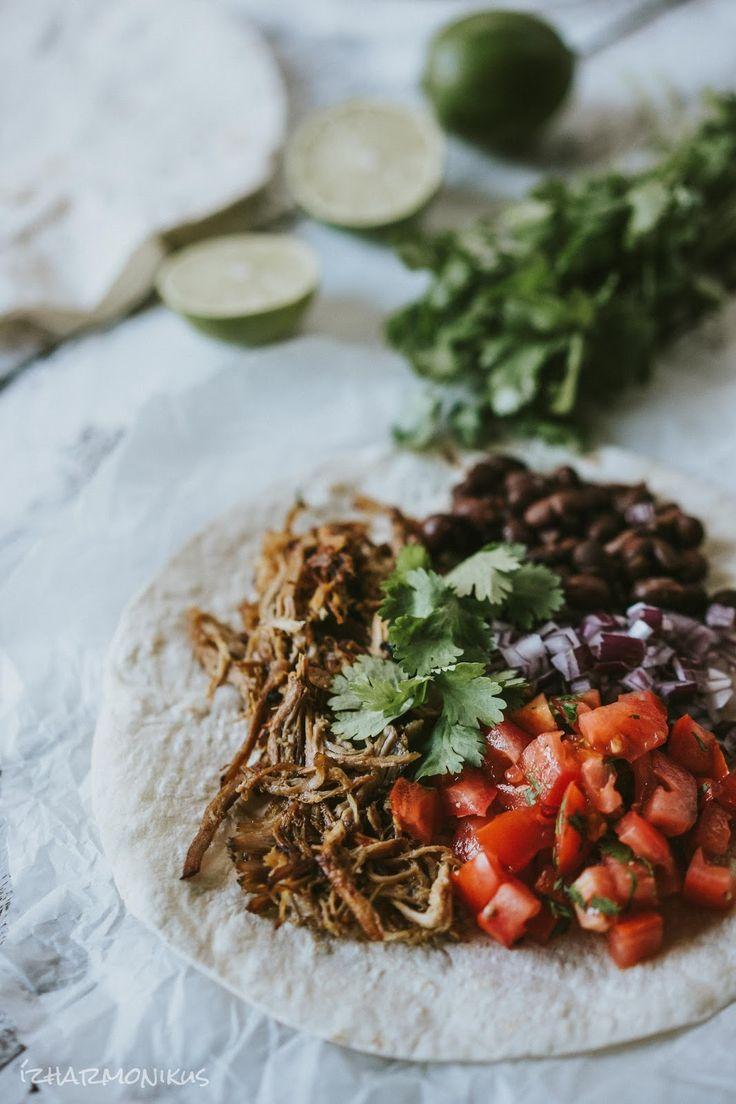Mexikói sertés carnitas
