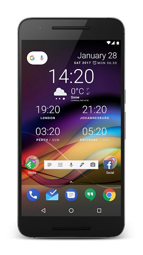 "Chronus Home & Lock Widget v8.0 RC1 [Pro] 	Requirements: 4.2+ 	Overview: Welcome to Chronus, a set of elegant Home & Lock screen Clock, Weather, News feed, Google Tasks, Stocks and Calendar widgets.   	    	  	As a flexible ""Information"" widget, Chronus is highly..."