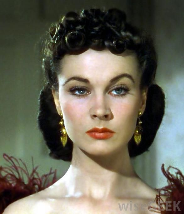 Scarlett Gone with the Wind | ... Leigh played Scarlett O'Hara in the 1936 novel 'Gone with the Wind