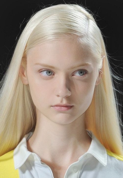 MAQUILLAGE: Nastya at Lacoste Spring 2013