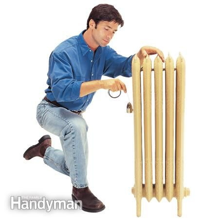 How to Bleed a Hot Water Radiator and Clear a Steam Radiator Vent