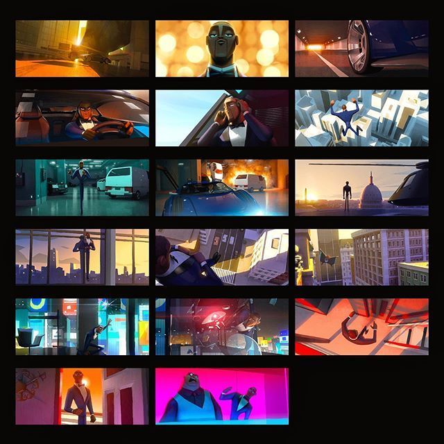 """Hyesung Park on Instagram: """"Color key thumbnails for the ..."""
