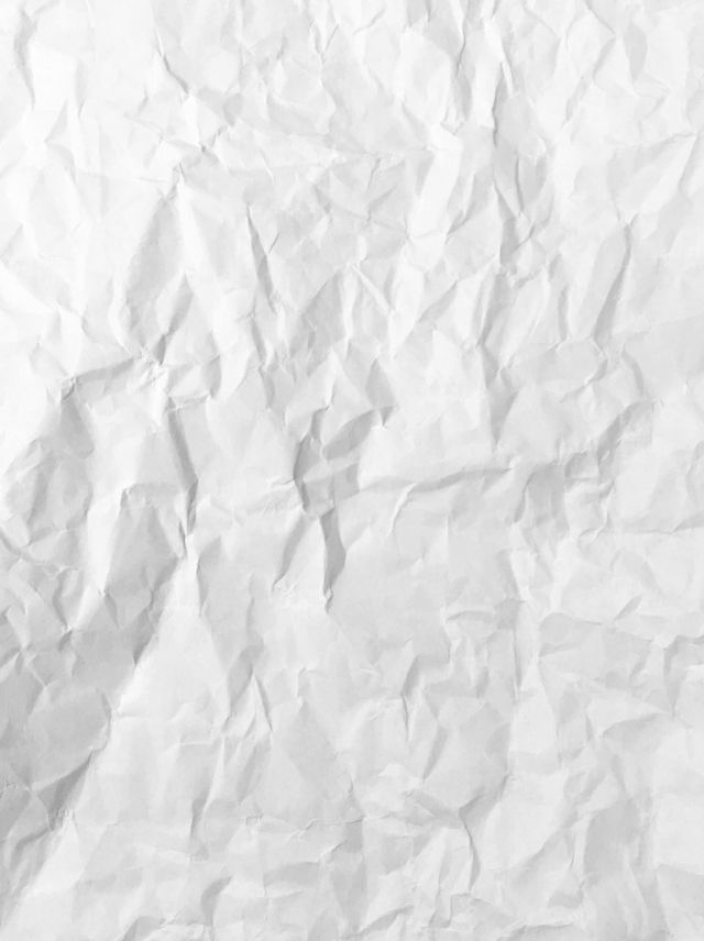 Wrinkled White Paper Background In 2020 Paper Background