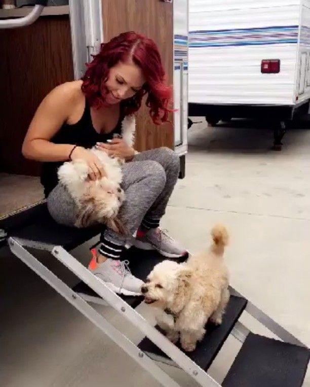 This is life!  @sharnaburgess #dwts #sharnaburgess #thebestthingever