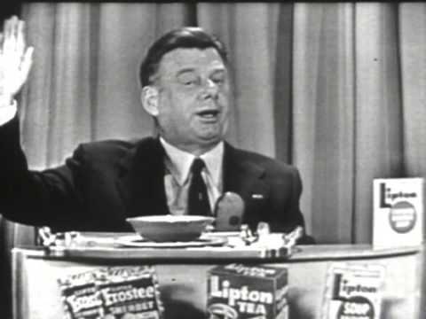Arthur Godfrey's Talent Scouts - Lipton Soup Commercial (1956)
