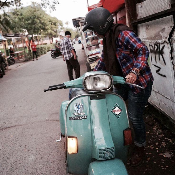 Calm anda stay calssy #vespa #vintage #vespaexclusif2 #scooter