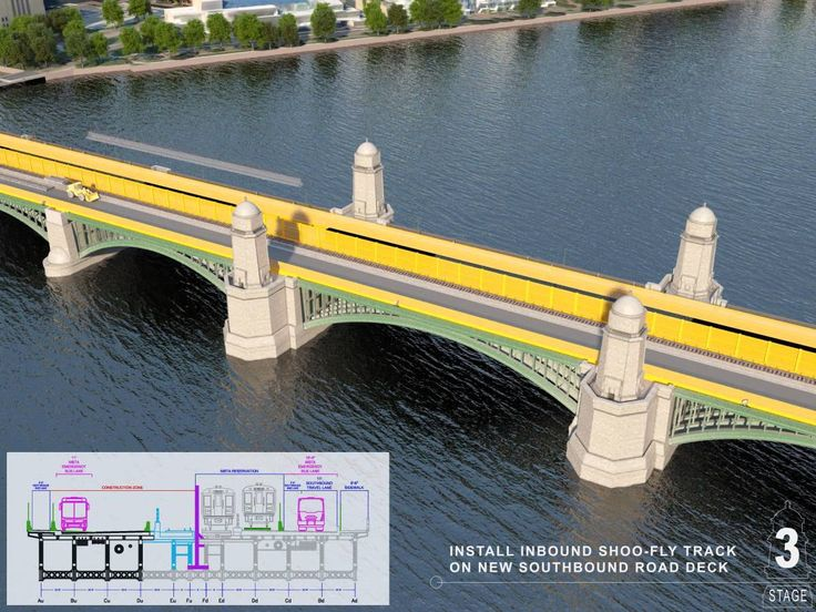MassDOT Longfellow Bridge Construction Animation