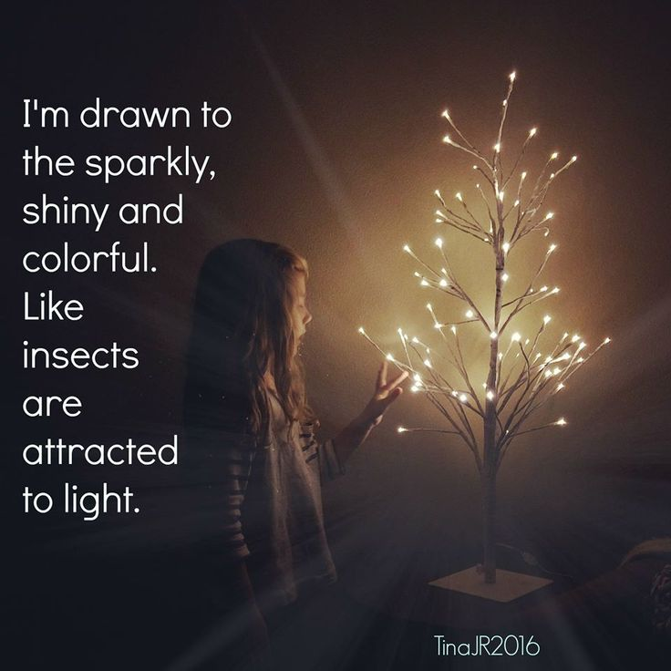 I'm drawn to the sparkly, shiny and colorful. Like insects are attracted to light.-Tina JR