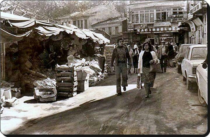 Kadıköy Çarşı 1970'li yıllar.