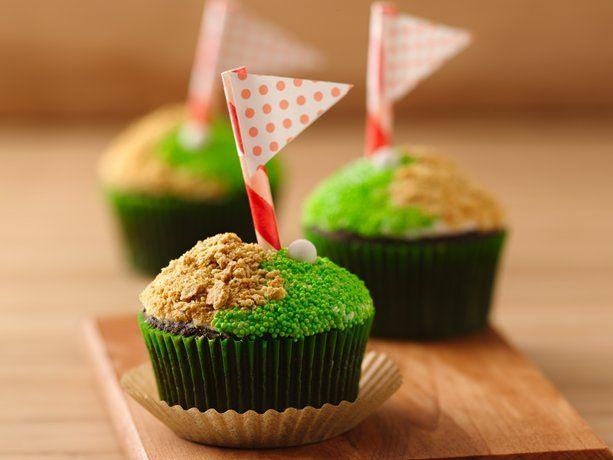 NASCAR Cupcakes - Salt And Vinegar Pork Rind Cupcakes With A Beer ...