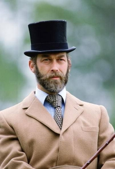 HRH Prince Michael of Kent  First cousin of Queen Elizabeth II Grandson of King George V, whom he resembles.