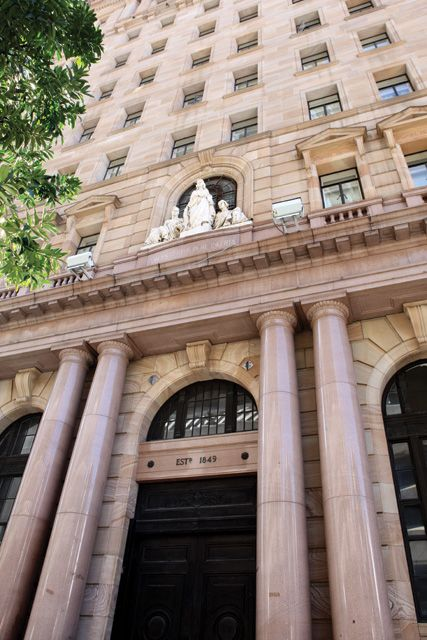MacArthur Museum: is in the heritage listed MacArthur Chambers building constructed between 1931 and 1934 as the Queensland headquarters of the Australian Mutual Provident (AMP) Society #architecture #design #brisbane #BNE #builtenvironment #BOH2013 #bneopenhouse #queensland