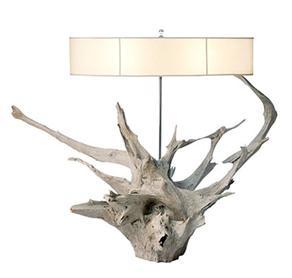 Modern Driftwood Lamp