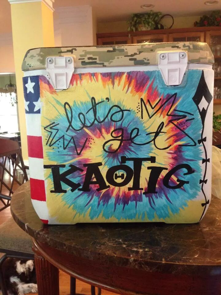 Let's get kaotic sorority cooler