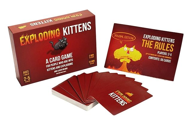 22 Products On Amazon That Ll Make Perfect Gifts Exploding Kittens Card Game Exploding Kittens Card Games