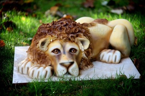 #CakeDecorating #LionCake We love this! In need of some cake decorating inspiration? Check this out!
