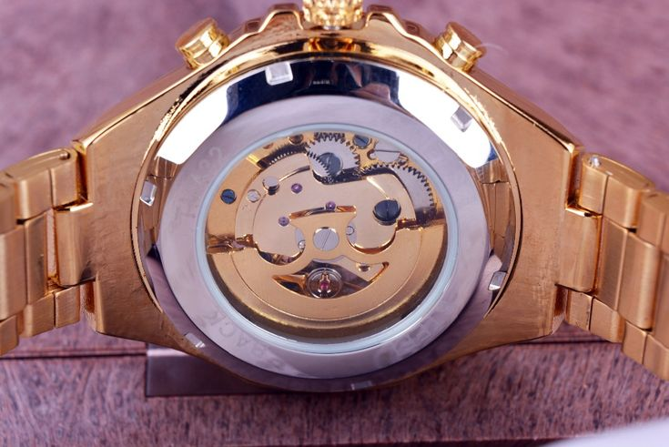Ganador Número Nuevo Deporte Diseño de Bisel de Oro Reloj Para Hombre Relojes de Primeras Marcas de Lujo Montre Homme Reloj Hombres Reloj Automático Esquelético en Relojes deportivos de Relojes en AliExpress.com | Alibaba Group