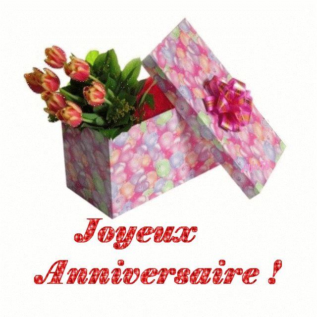 Images pour blogs et facebook panneau joyeux anniversaire - Image bouquet de roses gratuit ...