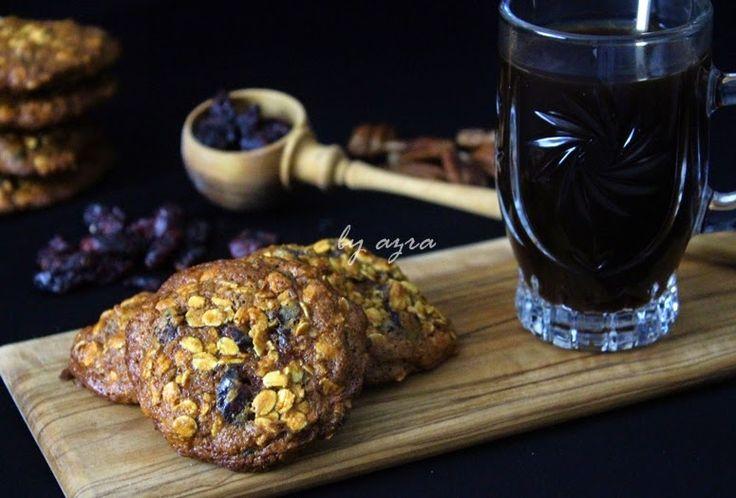 by azra: Yabanmersinli yulaflı kurabiye...