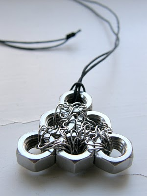 Nut necklace