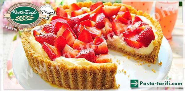 Çilekli Tart Tarifi  http://www.pasta-tarifi.com/cilekli-tart-tarifi.php #tarttarifleri