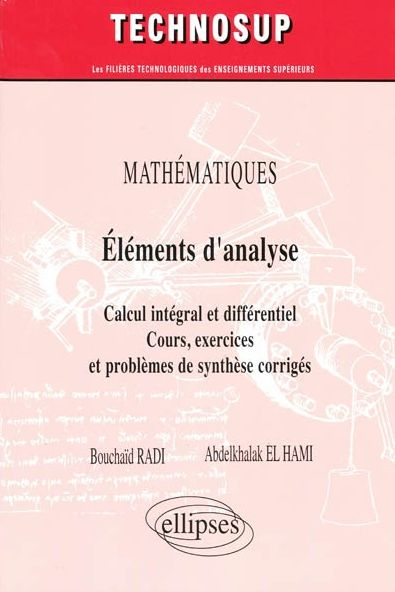 6 chapitres couvrant l'intégralité du programme de 1re année des écoles d'ingénieurs avec classes préparatoires intégrées ou du premier cycle universitaire scientifique MPI. L'ouvrage propose des rappels de cours, des exemples et des problèmes corrigés autour du calcul différentiel, intégral et des équations différentielles.