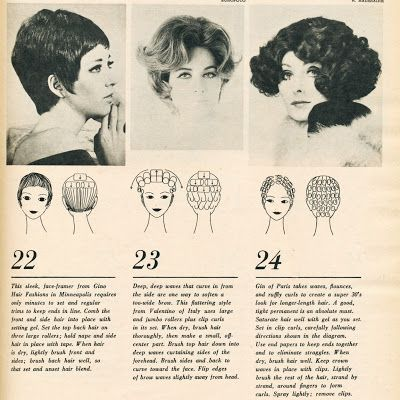 I love classic 1960s and 70s hairstyles and hairdressing, particularly classic wetsets. I collect vintage curlers, dryers and other items, and find they are much better for vintage hairdressing techniques than modern variants. You can email me at incurlers^gmail-com by replacing ^ with @ and - with a period.