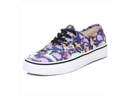 New Vans Women's Shoes Authentic Disney Jasmine Deep Ultramarine Trainer V18BGHD