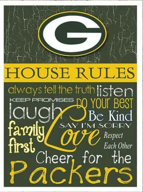 GBP - see you next season!  Will miss you in the playoffs...but there's always next year!!  Go PACK - always!!