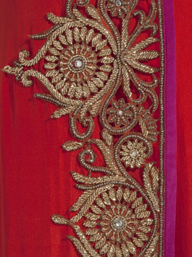 Anand Kabra Assymetric angrakha with cutwork border <3 <3