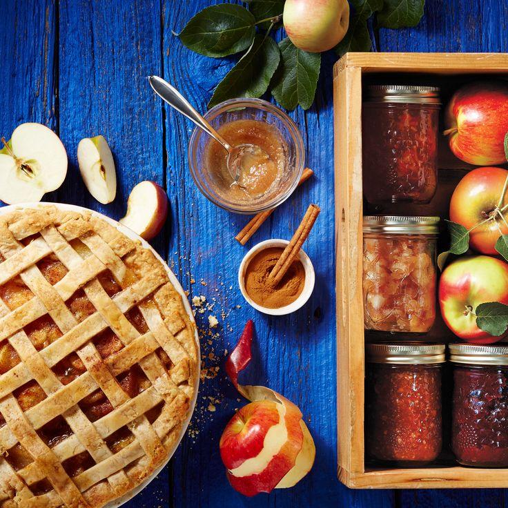 C'est le temps des pommes! Préparez-les en compote ou en tarte.