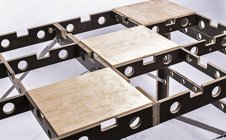 Отделка PRO Астрахань - Ячеистый стол верстак складной, универсальный