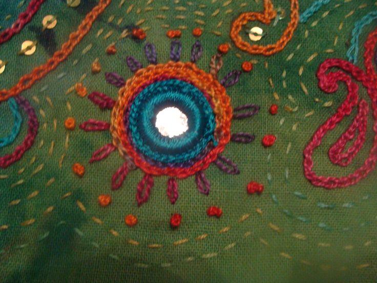kantha embroidery, Tina Rose