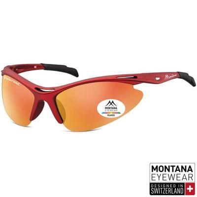 Γυαλιά Ηλίου Biker Montana Polarized SP301-DARKRED-e-chap