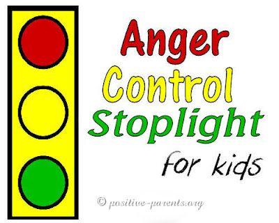 Positive Parents - Anger Control Stoplight for kids