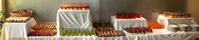 bushcooks kitchen: Grosses Fingerfood-Buffet: Panna Cotta mit süßem P...