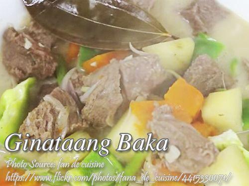 How To Cook Ginataang Baka Beef Stew In Coconut Milk