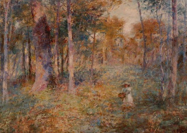 Frederick McCubbin (1855-1917), Lost, 1886, oil on canvas. Image courtesy of National Gallery of Victoria: Accession no. 1077-4, Felton Bequest, 1940.