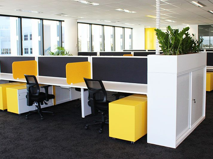 Benchwork from Fuze Business Interiors #officedesign