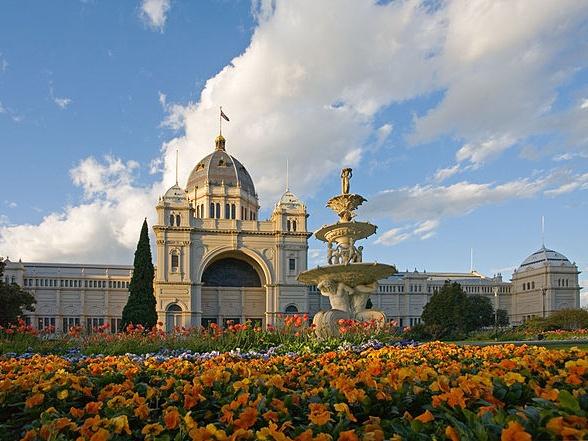 Royal Exhibition Building In Melbourne #Australia