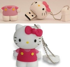 8GB USB Hello Kitty flash pen drive memory stick and keyring for Chirstmas gift. Only £6.49