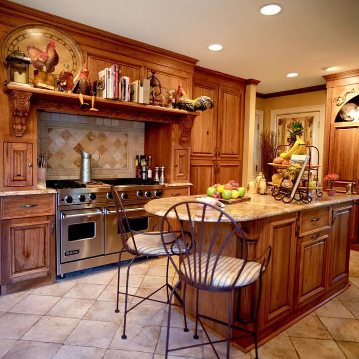 15 Rustic Kitchen Cabinets Designs Ideas With Photo Gallery. Best Images  Rustic Decor Above ...
