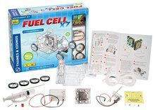 Thames & Kosmos - Fuel Cell X7 Hydrogen-Powered Car Kit - Clear/Translucent