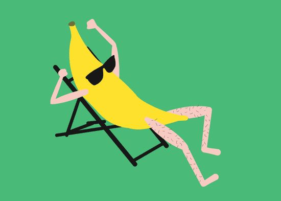 Cool Bananas by tin&ed