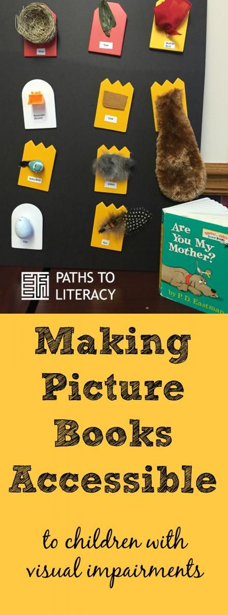 Making picture books accessible to children with visual impairments and multiple disabilities