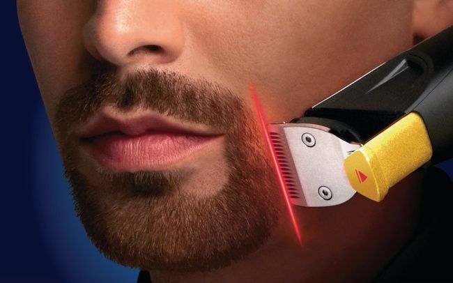 The First Laser Guided Beard Trimmer