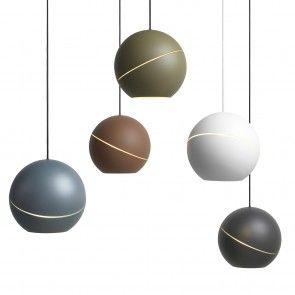 Sliced Sphere hanglamp Roijé groen | Musthaves verzendt gratis