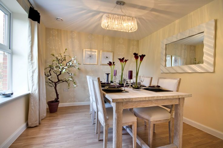 The dining area in The Pinkerton at Aspen Park in Apsley | Bovis Homes