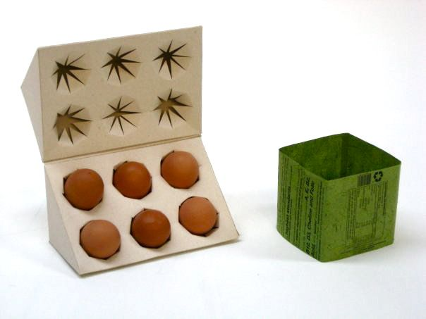 Packaging for eggs