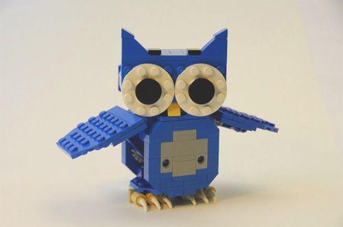 lego owl!: Lego Owl, Kids Stuff, Cute Ideas, Lego Creations, Baby Toys, Cute Owl, Owl Hoot, Kids Toys, Cool Lego